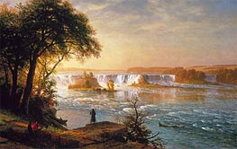 The Falls of St. Anthony, c.1880/87 by Bierstadt | Painting Reproduction