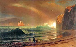 The Golden Gate, 1900 by Bierstadt | Painting Reproduction