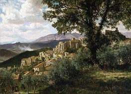 Olevano, c.1856/57 by Bierstadt | Painting Reproduction