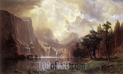 Bierstadt | Among the Sierra Nevada Mountains, California, 1868