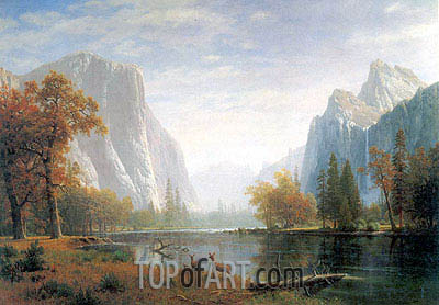 Bierstadt | Yosemite Valley, c.1863/75