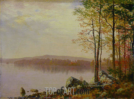 Landscape, 1899 | Bierstadt | Painting Reproduction