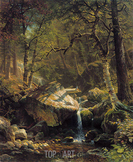 Bierstadt | Mountain Brook, 1863