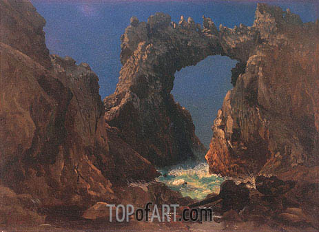 Farallon Islands, 1872 | Bierstadt| Painting Reproduction