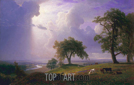 California Spring, 1875 | Bierstadt | Painting Reproduction