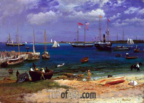 Bierstadt | Nassau Harbor, c.1877