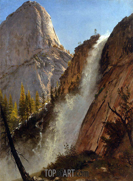 Liberty Cam, Yosemite, 1873 | Bierstadt | Painting Reproduction