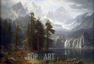 Bierstadt | Sierra Nevada, c.1871