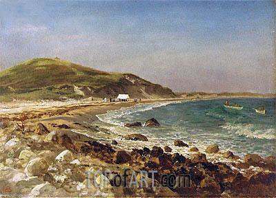 Bierstadt | Coastal Scene, undated
