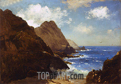 Farallon Islands, undated | Bierstadt| Gemälde Reproduktion