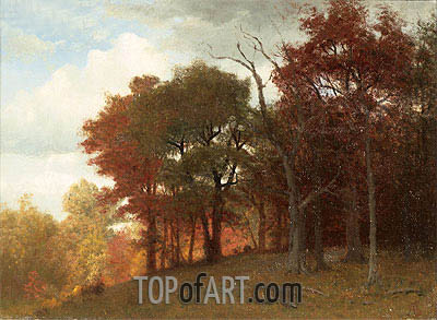 Hastings on the Hudson River, 1865 | Bierstadt | Painting Reproduction