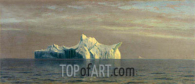 Iceberg, 1884 | Bierstadt | Painting Reproduction