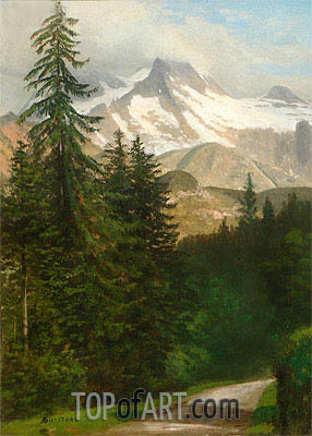 Bierstadt | Scene near Estes Park, undated