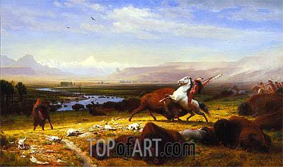 Bierstadt | The Last of the Buffalo, 1888
