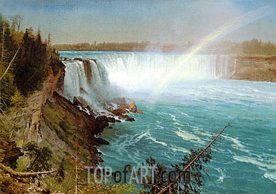 Niagara, c.1869 | Bierstadt | Painting Reproduction