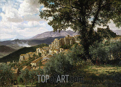 Olevano, c.1856/57 | Bierstadt | Painting Reproduction