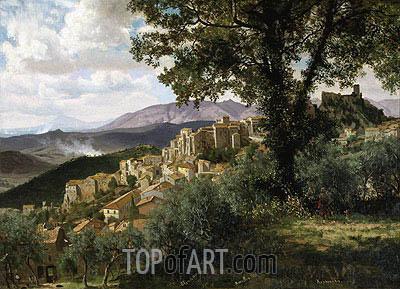 Bierstadt | Olevano, c.1856/57