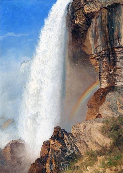 Niagara Wasserfälle, undated | Bierstadt | Gemälde Reproduktion