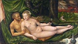 Lot and His Daughters, 1537 von Albrecht Altdorfer | Gemälde-Reproduktion