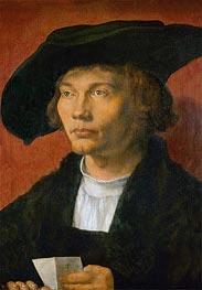 Portrait of Bernhard von Reesen, 1521 by Durer | Painting Reproduction
