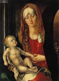 Virgin and Child before an Archway | Durer | Painting Reproduction