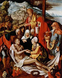 Lamentation for Christ, c.1500/03 by Durer | Painting Reproduction
