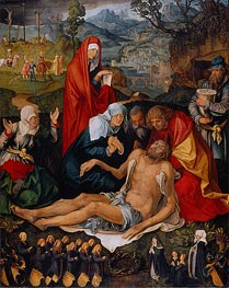 Lamentation over the Dead Christ | Durer | Gemälde Reproduktion
