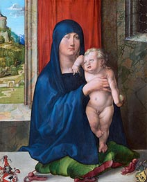 Madonna and Child (Haller Madonna) | Durer | Gemälde Reproduktion