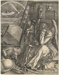 Melencolia I, 1514 by Durer | Painting Reproduction