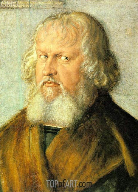 Portrait of Hieronymus Holzschuher, 1526 | Durer| Painting Reproduction