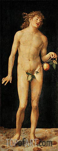 Adam, 1507 | Durer | Painting Reproduction