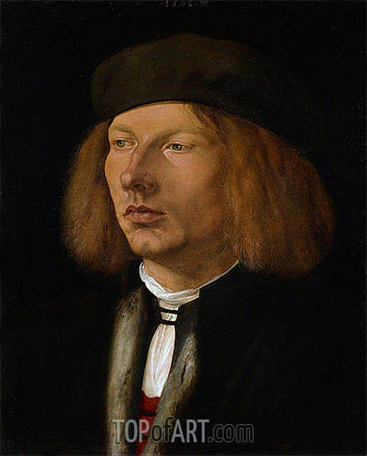 Portrait of Burkard von Speyer, 1506 | Durer | Painting Reproduction