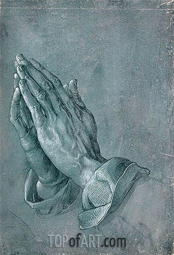 Durer | Hands of an Apostle (Praying Hands), 1508
