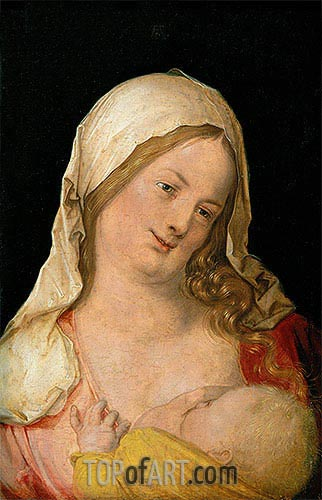 Virgin and Child, 1503 | Durer | Painting Reproduction