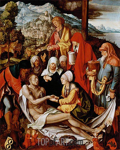 Lamentation for Christ, c.1500/03 | Durer| Painting Reproduction