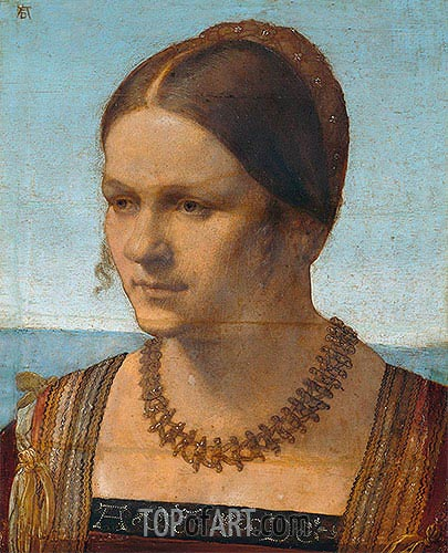 Durer | Portrait of a Young Venetian Lady, 1506