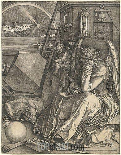 Durer | Melencolia I, 1514