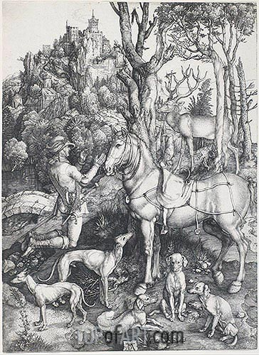 Durer | Saint Eustace, c.1500/01