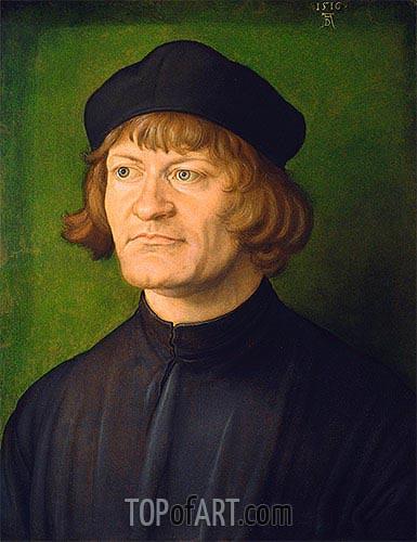 Durer | Portrait of a Clergyman (Johann Dorsch), 1516