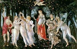 Primavera, c.1482 von Botticelli | Gemälde-Reproduktion