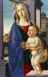Virgin and Child, c.1490 by Botticelli | Painting Reproduction