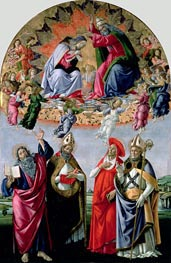 The Coronation of the Virgin (Altarpiece of St Mark) | Botticelli | outdated