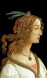 Portrait of a Young Woman | Botticelli | outdated