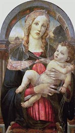 The Virgin and Child, Undated by Botticelli | Painting Reproduction