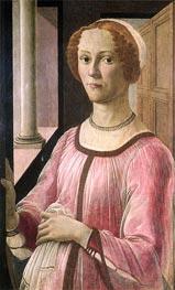 Portrait of Smeralda Bandinelli | Botticelli | Painting Reproduction