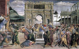 The Punishment of Korah, Dathan and Abiram, 1481 by Botticelli | Painting Reproduction