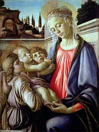 Madonna and Child with Angels | Botticelli | outdated