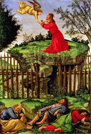 The Agony in the Garden, c.1500 by Botticelli | Painting Reproduction