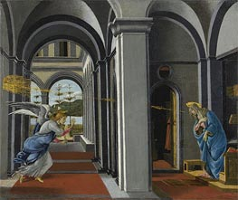 The Anunciation, c.1493 by Botticelli | Painting Reproduction