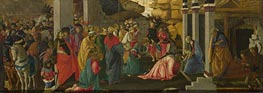 Adoration of the Kings, c.1470 by Botticelli | Painting Reproduction
